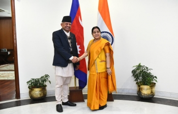 External Affairs Minister meets Minister for Foreign Affairs of Nepal