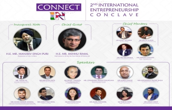 2nd International Entrepreneurship Conclave - Connect-IN to be held on January 19, 2019 at Hotel Yak & Yeti