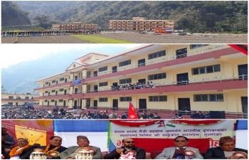 India Builds Chandrakot Campus in Gulmi District