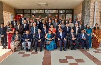 Nepali Judicial Officers at National Law University, Jodhpur, Rajasthan, India