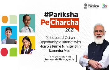 4th edition of Pariksha Pe Charcha @ 7 PM on 7 April 2021