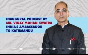 Inaugural conversation with Amb Shri Vinay Mohan Kwatra