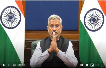 Video Messages by EAM  on Hindi Divas