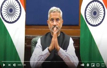 भारत के विदेश मंत्री श्री सुब्रह्मण्यम जयशंकर का हिंदी दिवस पर सन्देश