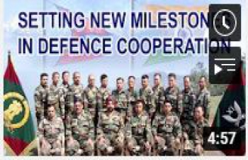 Setting new milestones in Defence Cooperation