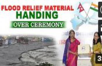 Flood Relief Material Handing Over Ceremony