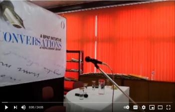 Conversations - V: Hari Bansha Acharya with Madan Krishna Shrestha