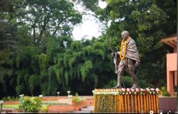 Glimpses of 152nd Gandhi Jayanti Celebrations by Embassy of India, Kathmandu.