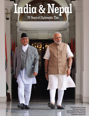 Click here for download India and Nepal 70 years of Diplomatic Ties